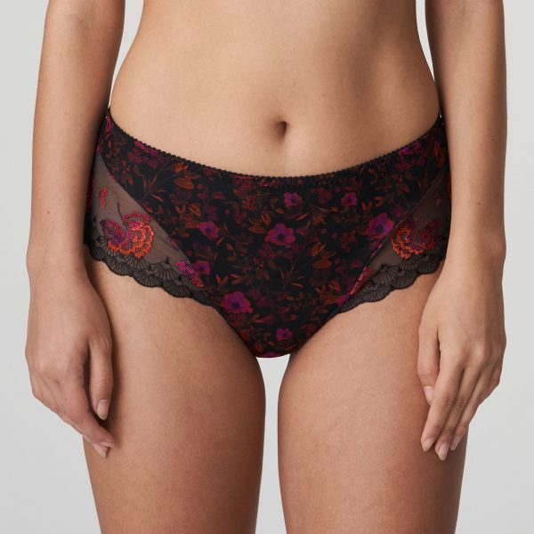 PALACE GARDEN charbon luxe string